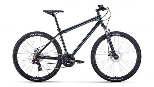 Велосипед Forward SPORTING 27,5 2.0 Disc (серый/ черный)