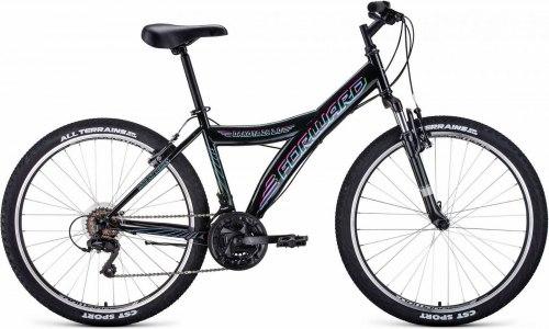 Велосипед Forward Dakota 26 2.0 2020 (черный)