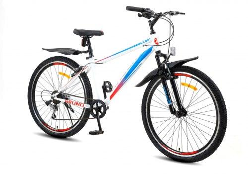 Велосипед Racer Bruno 26 (2021) Белый