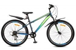 Велосипед Racer Bruno 26 (2021) Серый