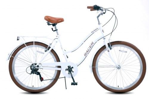 Велосипед Racer Nomia 26 (2021) Белый