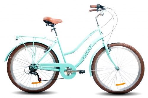 Велосипед Racer Nomia 26 (2021) Голубой