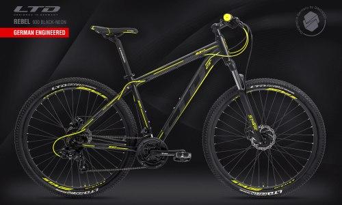 "Велосипед LTD Rebel 930 Black-Neon 29"" (2021)"