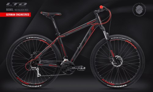 "Велосипед LTD Rebel 950 Black-Red 29"" (2021)"