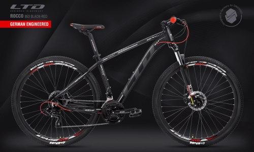 "Велосипед LTD Rocco 953 HD Black-Red 29"" (2021)"