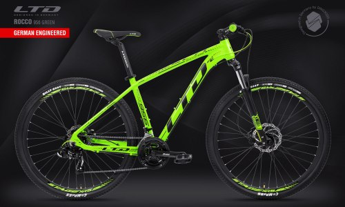 "Велосипед LTD Rocco 956 Green 29"" (2021)"