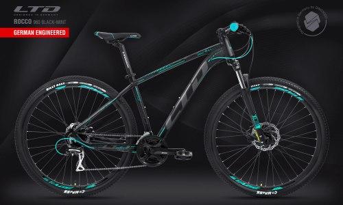 "Велосипед LTD Rocco 960 Black-Mint 29"" (2021)"