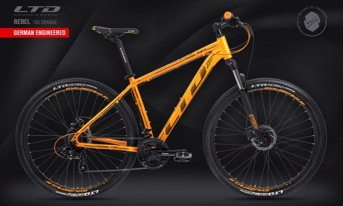"Велосипед LTD Rebel 730 Orange 27.5"" (2021)"