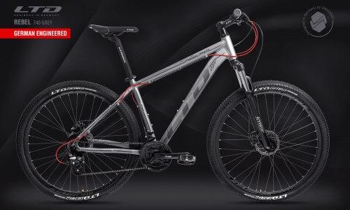 """Велосипед LTD Rebel 740 Grey 27.5"""" (2021)"""