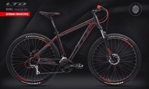 "Велосипед LTD Rebel 750 Black-Red 27.5"" (2021)"