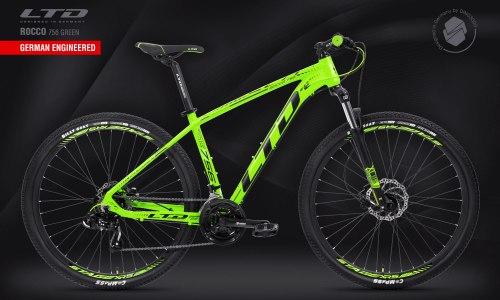 "Велосипед LTD Rocco 756 Green 27.5"" (2021)"