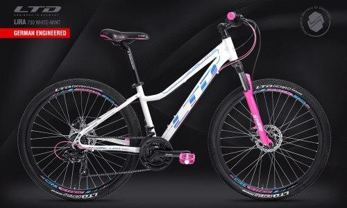 Велосипед LTD Lira 730 White-Mint (2021)
