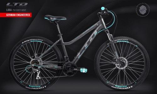 Велосипед LTD Lira 750 Grey-Mint (2021)