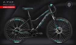 Велосипед LTD Stella 753 Black-Mint (2021)