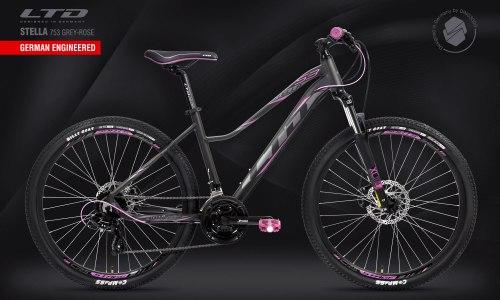 Велосипед LTD Stella 753 Grey-Rose (2021)