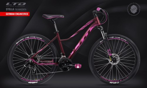 Велосипед LTD Stella 756 Magenta (2021)