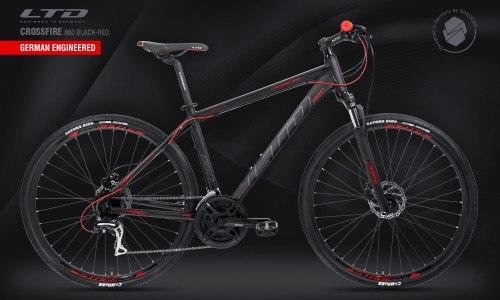 Велосипед LTD Crossfire 860 Black-Red (2021)