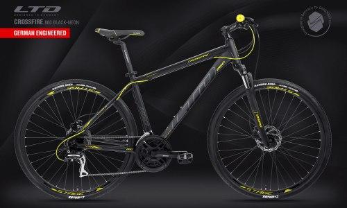 Велосипед LTD Crossfire 860 Black-Neon (2021)
