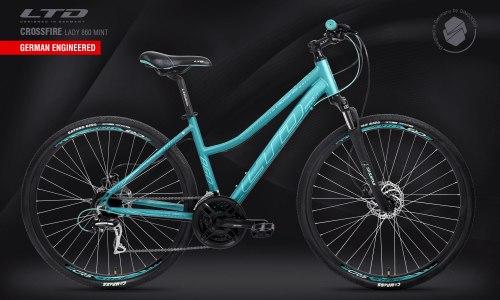 Велосипед LTD Crossfire Lady 860 Mint (2021)