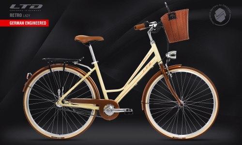 Велосипед LTD Retro Lady Beige (2021)
