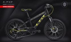 Велосипед LTD Bandit 240 Black-Neon (2021)