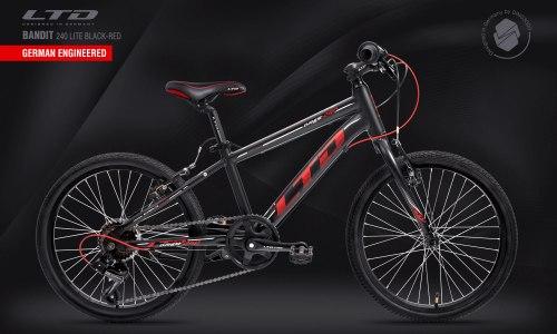 Велосипед LTD Bandit 240 Lite Black-Red (2021)