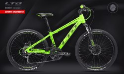 Велосипед LTD Bandit 440 Green (2021)