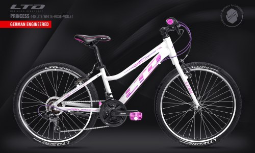 Велосипед LTD Princess 440 Lite White-Rose (2021)