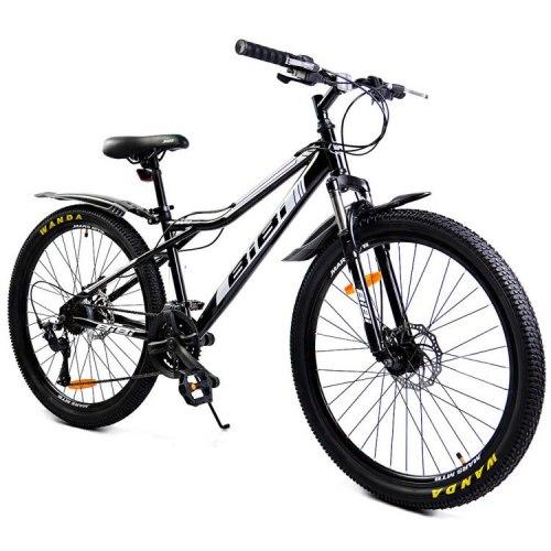 Велосипед Bibi Mars D 26 (чёрный/белый)