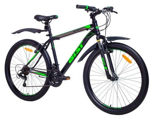 Велосипед Aist Quest (чёрно-зелёный)
