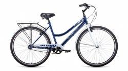 Велосипед Altair City 28 Low 3.0 (19, синий/белый, 2021)