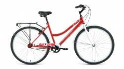 Велосипед Altair City 28 Low 3.0 (19, красный/белый, 2021)