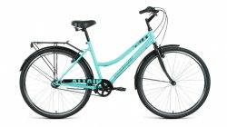 Велосипед Altair City 28 Low 3.0 (19, мятный/черный, 2021)