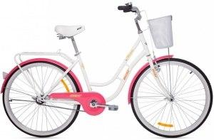 Велосипед Aist Avenue 1.0 (белый-розовый)