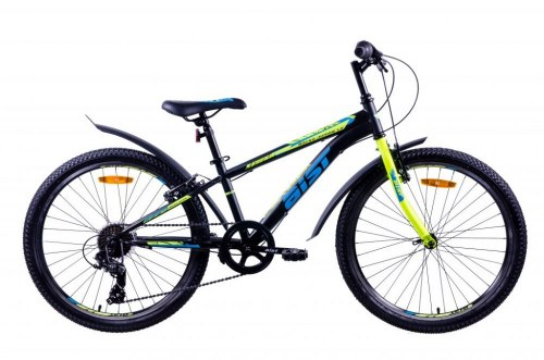 Велосипед Aist Rocky Junior 1.0 (черный)
