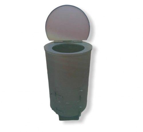 """Мусоросжигатель садовый """"Дым - Дымок"""" 4 мм (130Л)"""