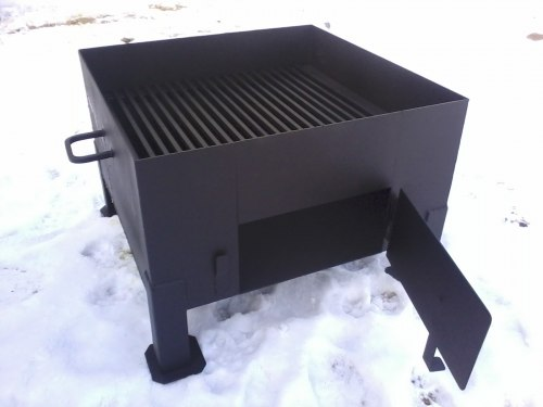 """Печь для сжигания садового мусора """"NADA"""" 325л (сталь 3 мм) Nada"""