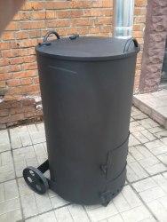 """Печь - бочка для сжигания садового мусора """"Смуглянка"""" 250 Л Nada"""