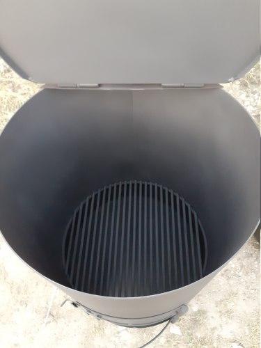 """Печь - бочка для сжигания мусора """"Уголек"""" 240 (Nada)"""