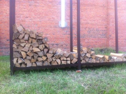 Навес для дров (Дровница) КУБ-2