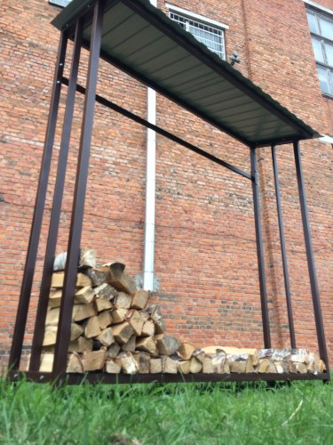 Навес для дров (Дровница) 2М