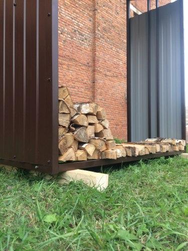 Навес для дров (Дровник) КУБ-4z