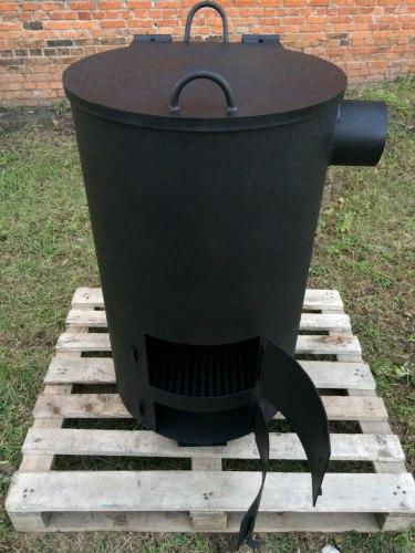 """Печь """"Смуглянка"""" 180Л для сжигания мусора Nada"""