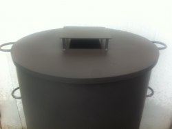 Крышка печи для мусора КМ-2 Nada