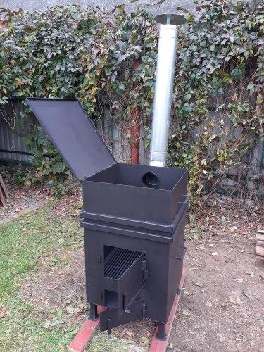 """Печь для сжигания садового мусора """"NADA"""" Плюс Nada"""