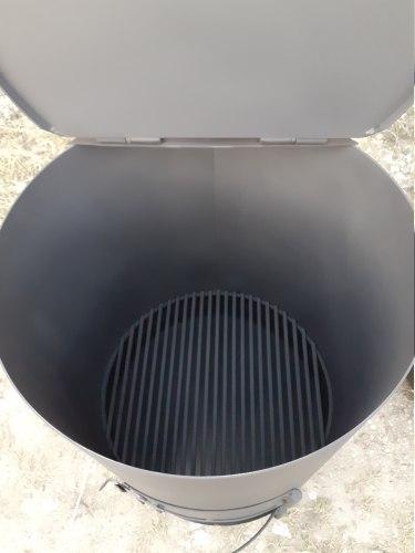 """Печь - бочка для сжигания садового мусора """"Смуглянка"""" 200Л Nada"""