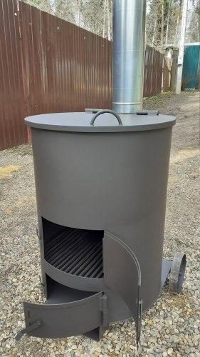 """Печь для сжигания садового мусора """"Золушка-1"""" 4 мм особопрочная"""