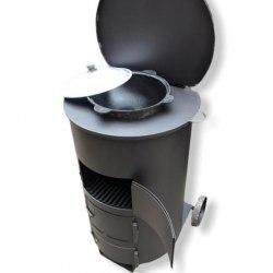 """Печь для сжигания мусора """"МаУгли"""" 240 (4мм)"""