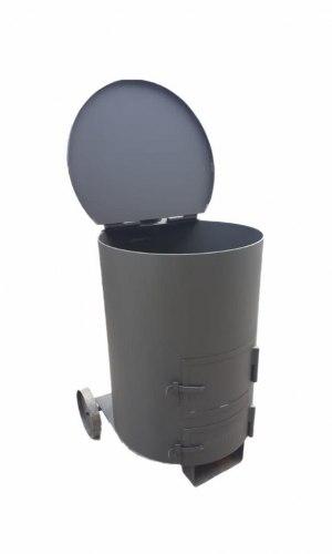 """Печь - бочка для сжигания мусора """"Золушка"""" 1 (5мм)"""