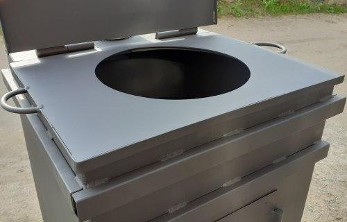 Плита под казан для мусоросжигателя ПКВ-2